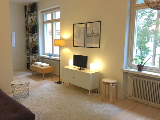 Tranquil and nice apartment in Helsinki