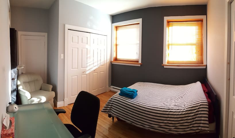 Double Bedroom in the City Centre - Québec - Apartment
