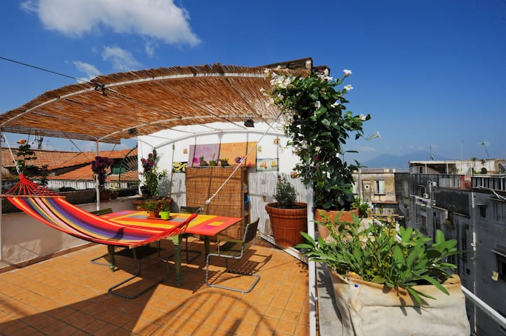 3room | Cool Attic just step from heart of Naples