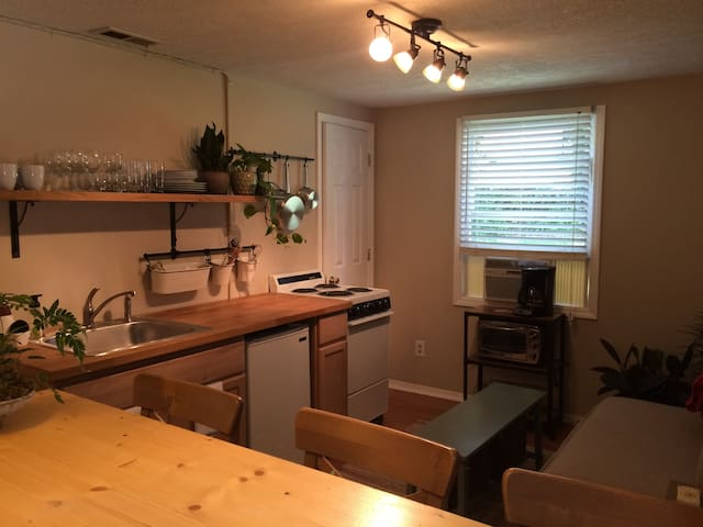 In the heart of West Asheville - Asheville - Appartement