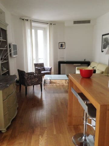 Appartement 37 m2 à 1 mn de la mer - Cannes - Apartment