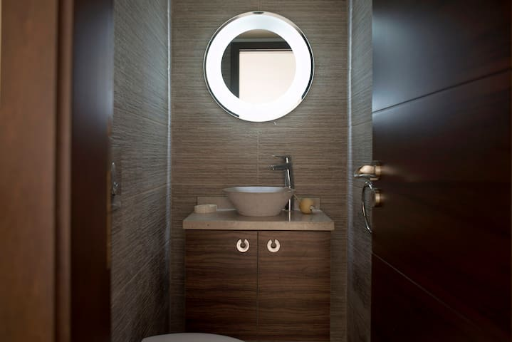 Bathroom Designs Lebanon bathroom. contact. small bath no problem a single vanity like this