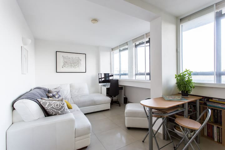 Listed flat in trendy East End