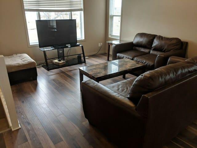 Dawson Creek central location spacious duplex