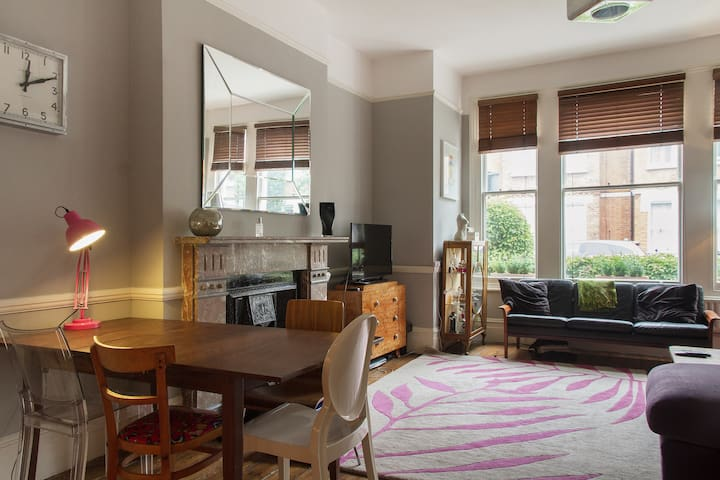Gorgeous quiet family home with garden - London - Apartment