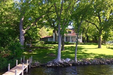 Unique Vintage Lakefront Homes - Green Lake