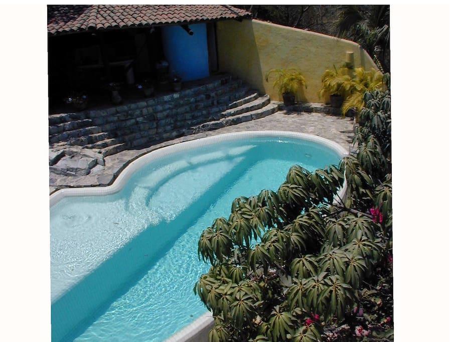 Pool near Cabana