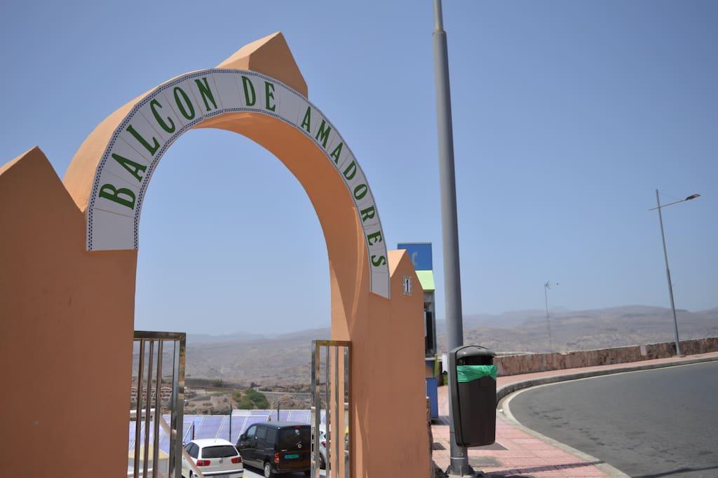 """Part of the """"Balcón de Amadores"""" complex"""