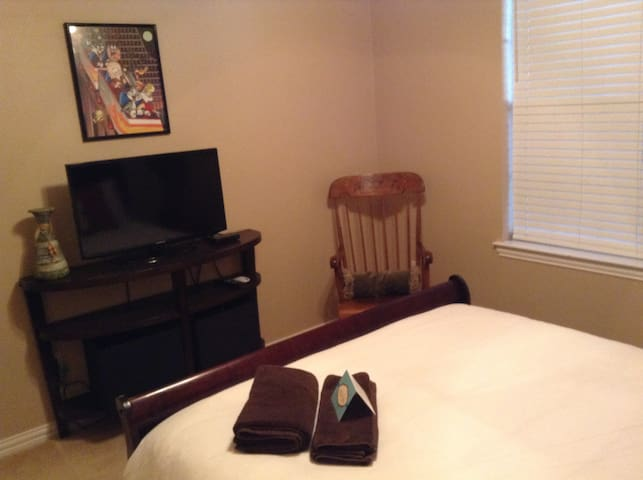 The Sanctuary House at McKinney TX.   1 bedroom.