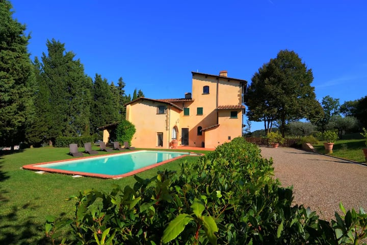 HistoricPrivate VillaSelva, Views & Florence 12 km