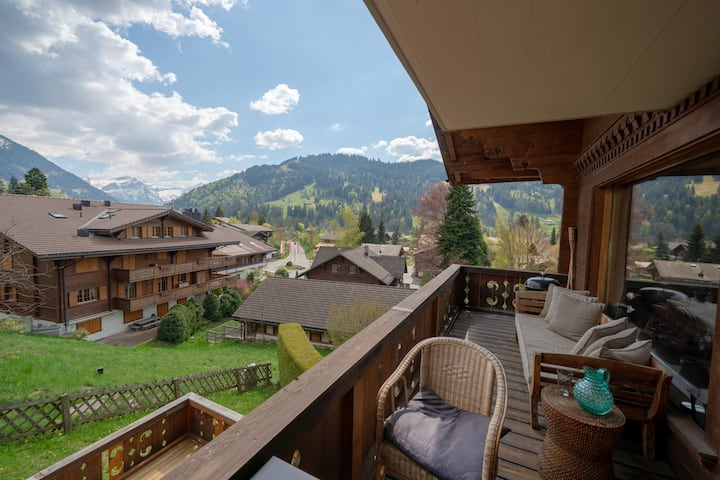 Cozy 3 Bedroom Apartment in central Gstaad