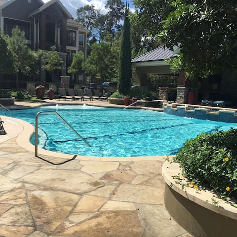 Pool View 1BDR/1Bath-Woodlands #71WL05 - The Woodlands - Pis
