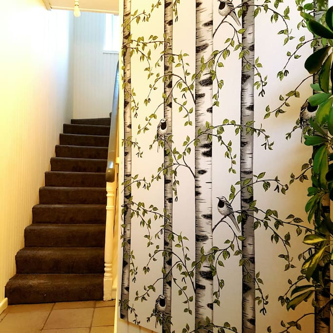 Stairway to apartment