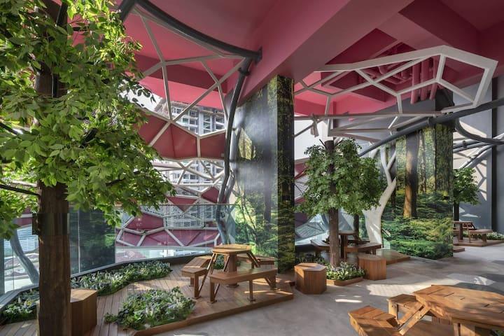 [Green Habitat] 1 Room/Garden Residence/@ Arte+ KL