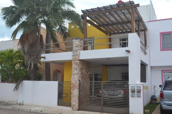 Preciosa casa cerca de mar Maison proche de la mer - Cancún - Casa