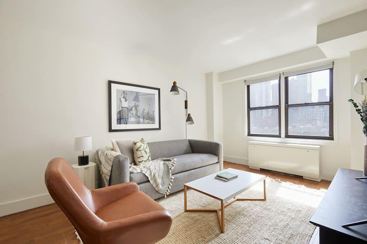 Sonder | Upper East Side | Chic 1BR + Sofa Bed