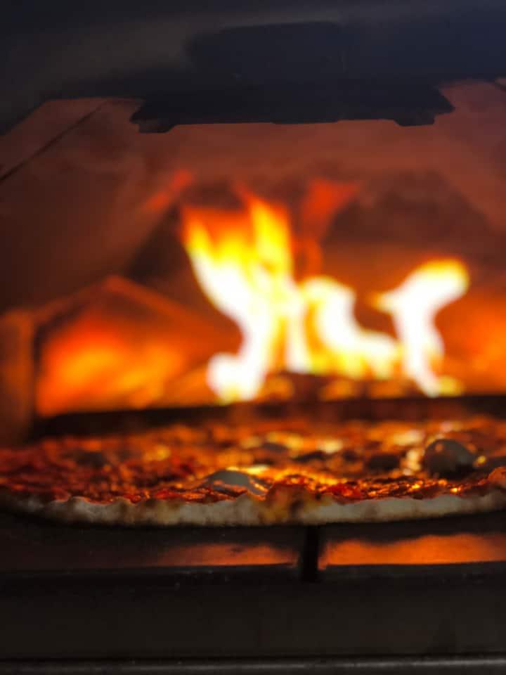 Outdoor Wooden fire oven