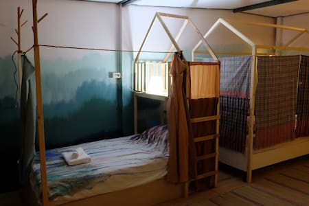 Baan Chuen Artsy homestay- Private 3 beds en-suite