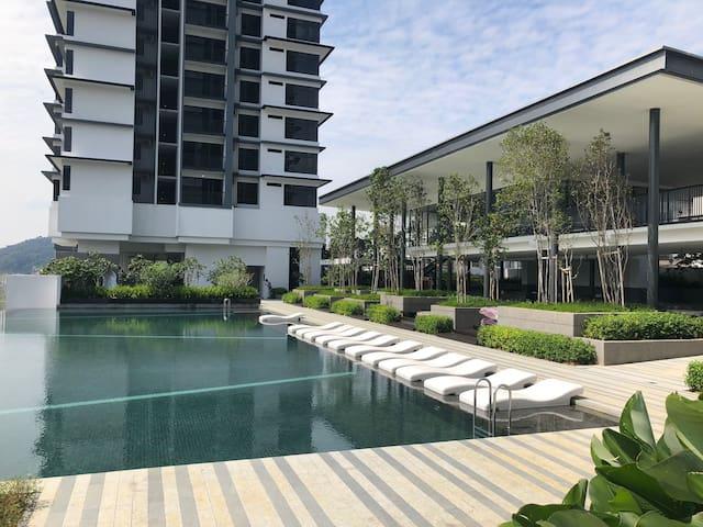 3 bedroom GardenView Suite @Melawati, Kuala Lumpur