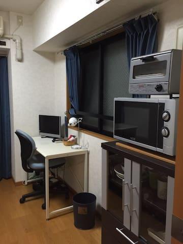 603銀座近い,駅から1分,東京最大匹發商業地點 - Chūō-ku - Apartmen