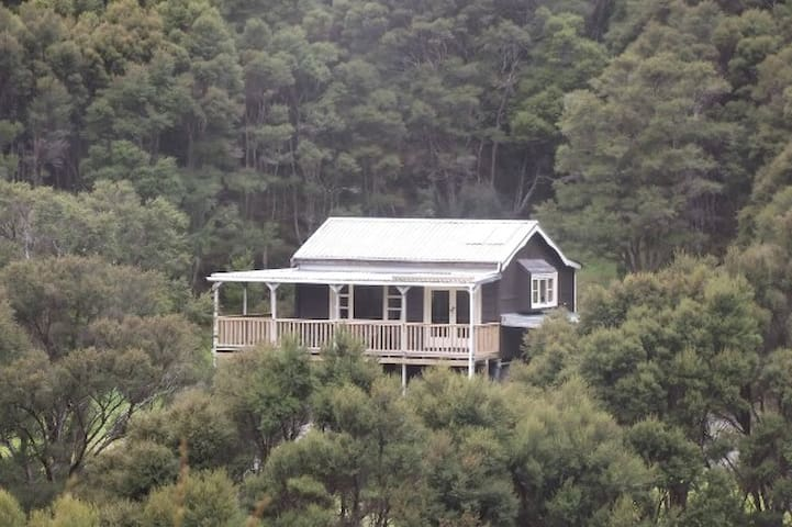 Private bush retreat at Tora, Martinborough