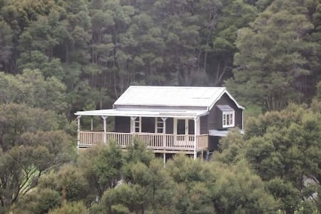 Private bush retreat at Tora, South Wairarapa