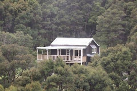 Private bush retreat at Tora, South Wairarapa