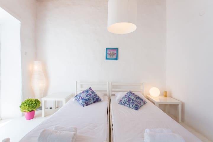 Precious Traditional Mykonian flat - Chora, Mykonos  - อพาร์ทเมนท์