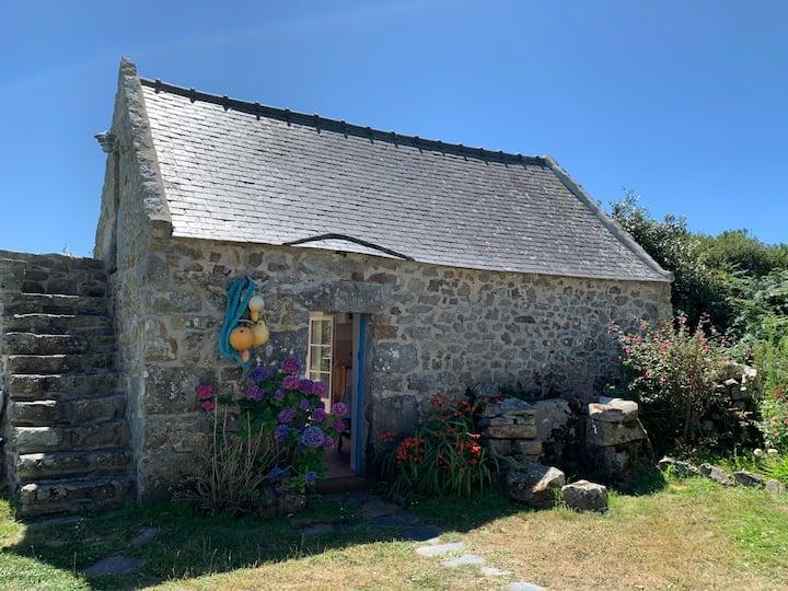 Petite maison privée sur la presqu'île de Crozon