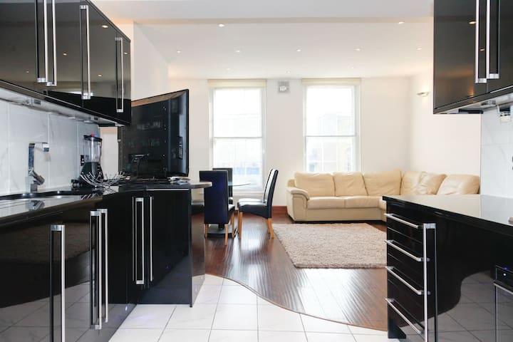 Spacious 2 Bed Modern Apartment B2 - London - Apartment