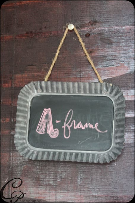 Welcome to the little A-frame!