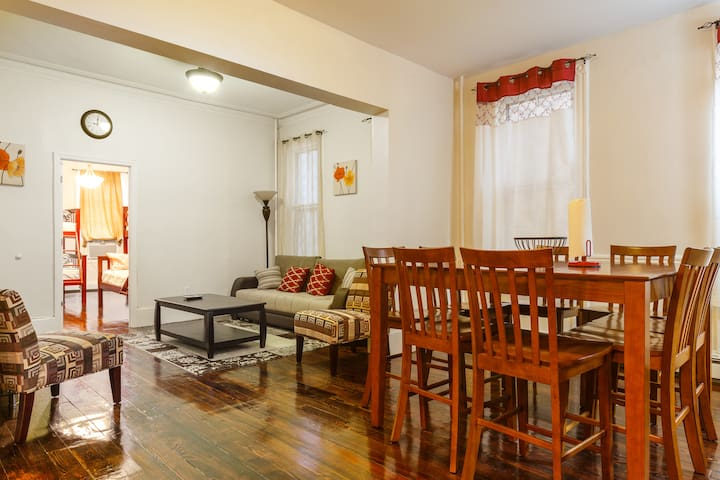 6. NYC. 5 minutes away Apartment!!! - Weehawken - Apartment