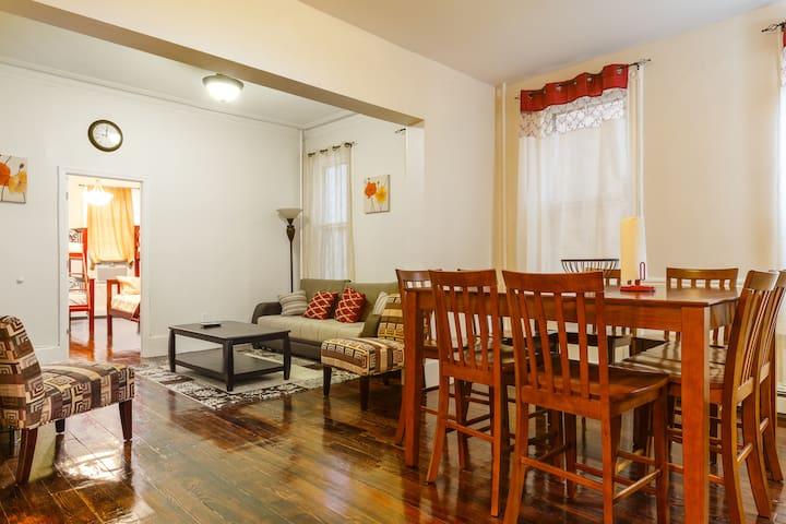 6. NYC. 5 minutes away Apartment!!! - Weehawken - Apartamento