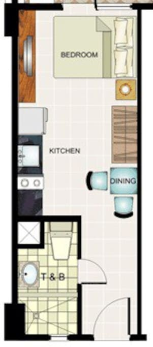 Just a basic layout of what to expect in our humble abode