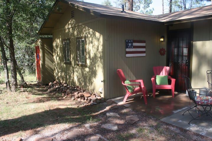 COZY BUNKHOUSE - PINE, AZ - Pine - Srub