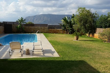 Marilena's place - Private Pool & Relax - Kounoupidiana - Leilighet