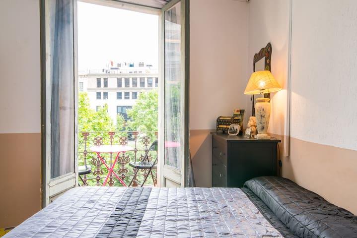 Nice room in center of barcelona - Barcelona - Apartment