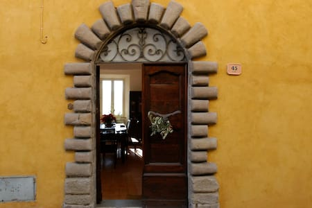 Restored Medieval Hill Town Villa - Monte San Martino - วิลล่า