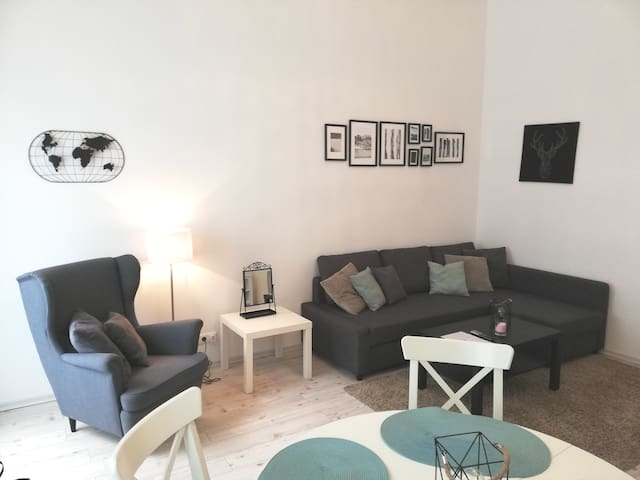 Stylish street-apartment near Messe-Prater