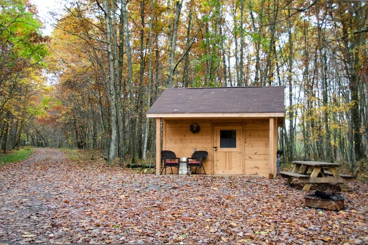 Glamping - Cozy Hut - Stanley - Oakland - Stuga