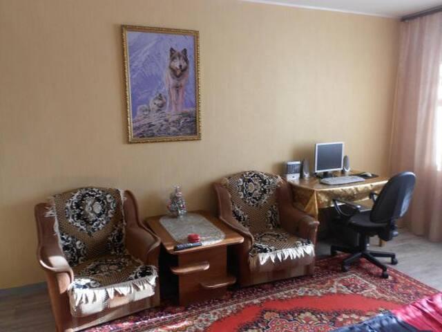 Квартира на Байкале.