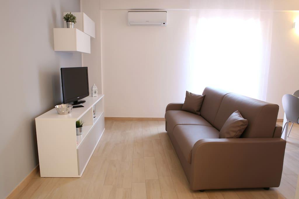 Soggiorno dell'appartamento Mare and More Faro