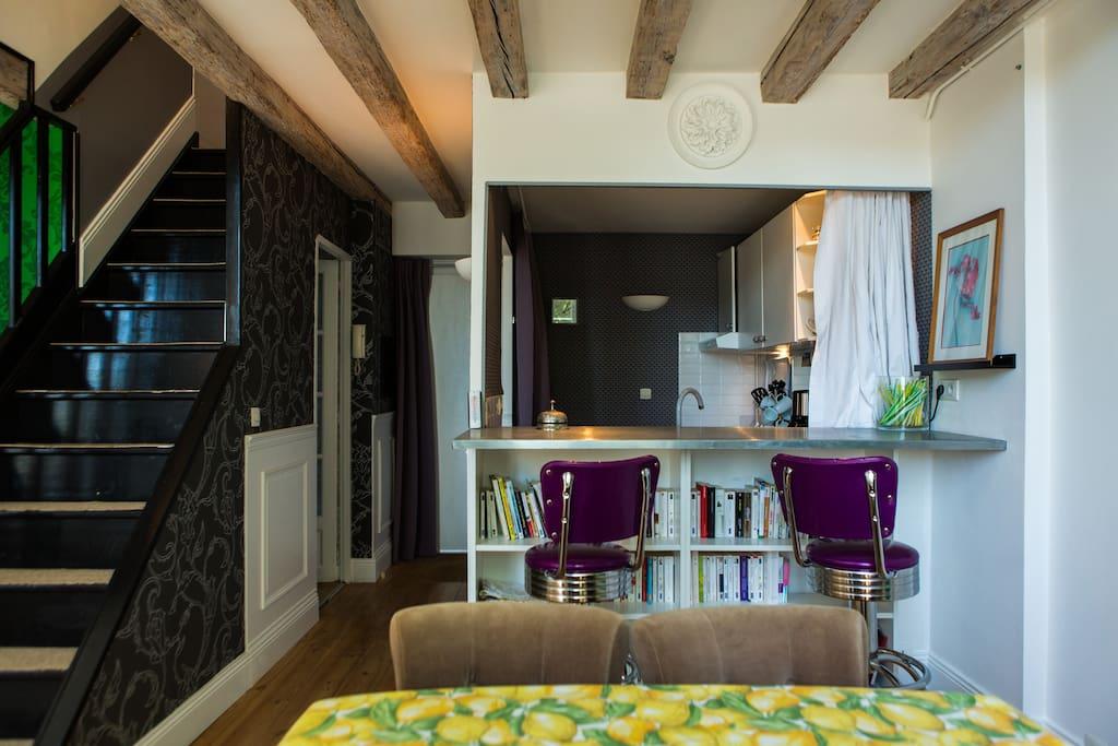 bx centre charmant t3 duplex appartements louer bordeaux aquitaine france. Black Bedroom Furniture Sets. Home Design Ideas