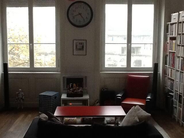 Appartement Lyon Croix rousse vue degagée