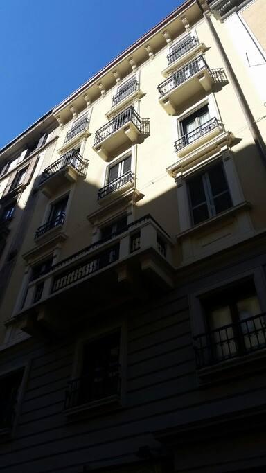 palazzo in centro