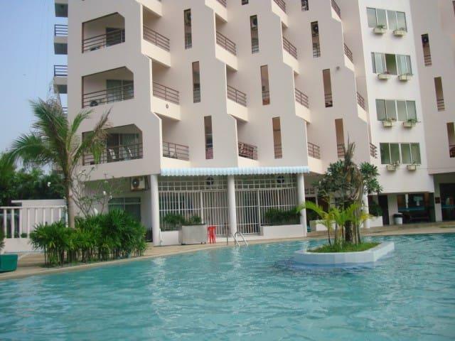 Lägenhet med kök, havsnära i Rayong - tambon  - Wohnung