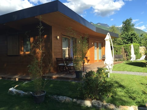 Chalet-Lac Annecy-Calme-Tranquille-Flexible
