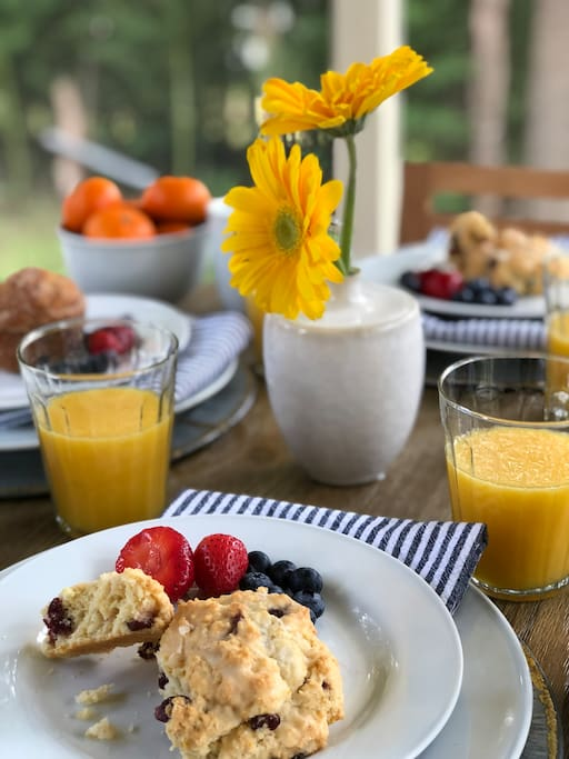 """""""We started our mornings with breakfast on your delightful screened porch"""""""