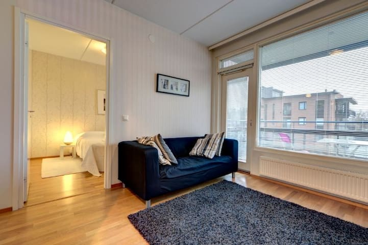 Cozy 1-br apartment at river side Tammerkoski