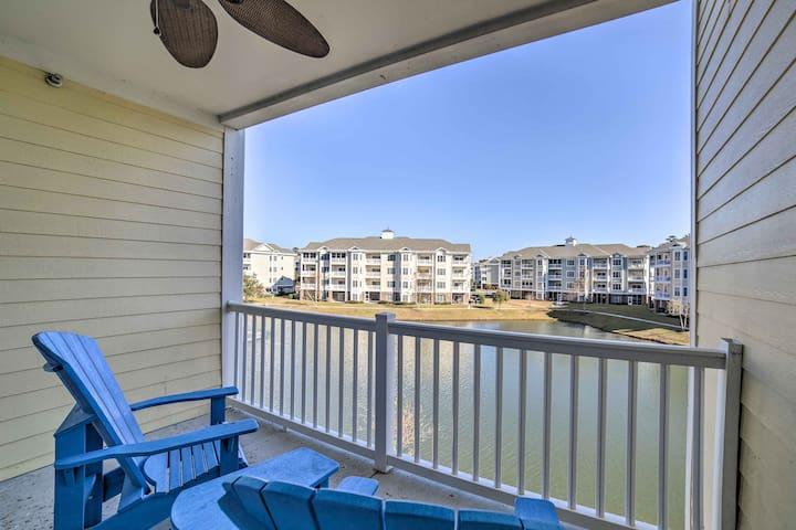 Prime Myrtle Beach Condo - Walk to Pools & Beach!